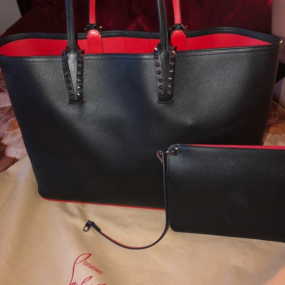 Original Christian Louboutin Bag And Pouch